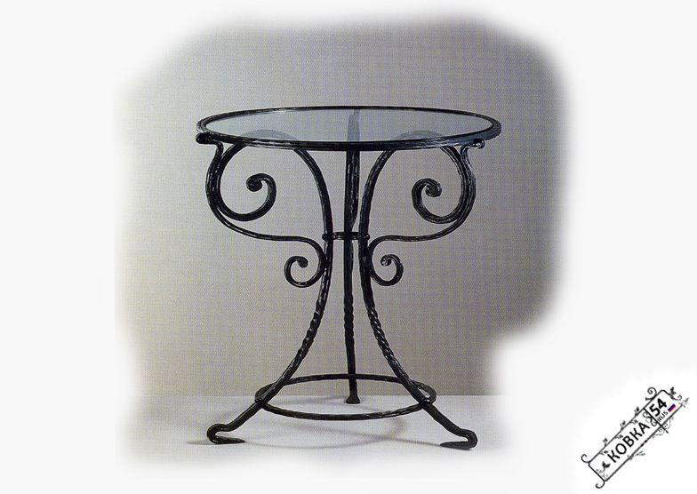Круглый стол из металла своими руками 54
